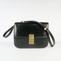 71dd1c7b4f Celine Bags Clasp Classic Box Medium Black Luxury Hot Sale  Celine ...
